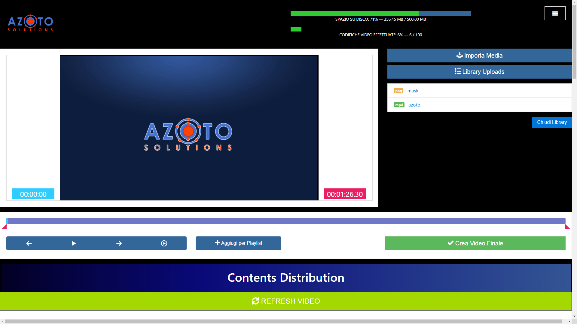 video ondemand streaming piattaforma